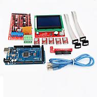 3D-Drucker-Controller Rampen 1.4 + Mega2560 r3 + 5 x a4988 + LCD12864 Controller-Board für 3D-Drucker