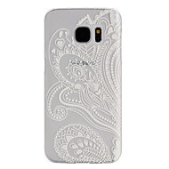 Voor Samsung Galaxy S7 Edge Mat / Transparant hoesje Achterkantje hoesje Mandala PC SamsungS7 plus / S7 Active / S7 edge plus / S7 edge /