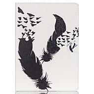 Pióro folio skóry stoją skrzynki pokrywa ze stojakiem do iPada powietrzu