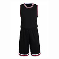 Hauts/Tops / Bas / Shirt ( Rouge / Noir ) - Fitness / Basket-ball - Sans manche - Homme