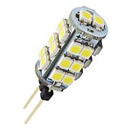 G4 1,6 W 26-ledda 3528 varmvit majs form LED-lampa