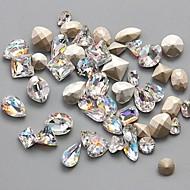 10PCS Difformity Luxurious Color Intrigue Jewel Nail Art Decorations