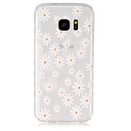 For Samsung Galaxy etui Transparent Etui Bagcover Etui Blomst TPU for Samsung S7 S6 edge S6 S5 Mini S5 S4 Mini S4 S3 Mini S3 S2