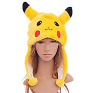 Hattu/lakki Innoittamana Pocket Monster PIKA PIKA Anime/Video Pelit Cosplay-Tarvikkeet Hat Musta / Punainen / Keltainen PolyesteriUros /