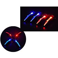 veiligheidslichten LED - Wielrennen Waterdicht / Gemakkelijk draagbaar LR44 15 Lumens Batterij Fietsen