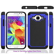 Mert Samsung Galaxy tok Ütésálló Case Hátlap Case Páncél PC Samsung Grand Prime / Core Prime
