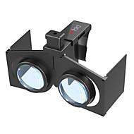 VR Fold V1 3D Virtual Reality Glasses - BLACK
