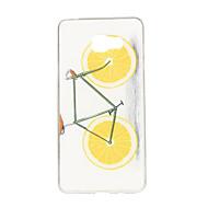 wzór pomarańczowy rower TPU miękki futerał etui na telefony Samsung Galaxy A3 / A5 / A7 / A3 10 / A510 / A710
