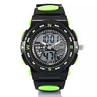 Αντρικά Γυναικεία Unisex Αθλητικό Ρολόι Ψηφιακό Plastic Μπάντα Μαύρο Μαύρο Κίτρινο Κόκκινο Πράσινο Μπλε