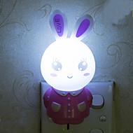 Królik Nostalgia inteligentne światła awaryjne kontrolowane doprowadziły lampka nocna dla dzieci pokojowej dekoracji domu