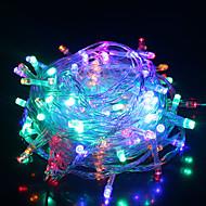 konge ro ferie lys batteri ledet streng lys utendørs vanntett string lys (kl0003-rgb, hvit, varm hvit)