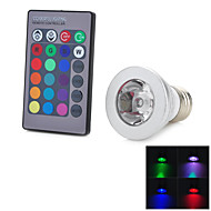 3W E26/E27 Lâmpada de LED Smart T 1 LED Integrado 100-200 lm RGB Decorativa AC 85-265 V 1 pç
