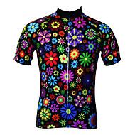 JESOCYCLING® Maillot de Cyclisme Femme Manches courtes VéloRespirable / Séchage rapide / Résistant aux ultraviolets / Antistatique /