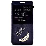 Mert Samsung Galaxy tok Állvánnyal / Betekintő ablakkal / Flip Case Teljes védelem Case Szó / bölcselet Műbőr SamsungA7(2016) / A5(2016)