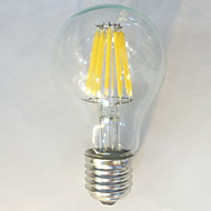 1 pcs kwbled E26/E27 12W 12 COB 1050 lm Warm White / White A60(A19) edison Vintage LED Filament Bulbs 220V