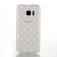 ultra-thin 0,1 εκατοστά TPU πίσω κάλυμμα για το Samsung Galaxy S3 / S3 mini / S4 / S4 mini / S5 / S5 mini / S6 / S6 άκρη / άκρη S6 συν /