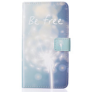 For Samsung Galaxy Case Wallet / Card Holder / with Stand / Flip Case Full Body Case Dandelion PU Leather SamsungJ5 (2016) / J5 / Grand