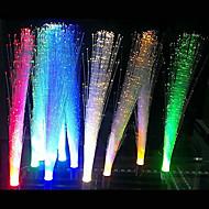 5st 3W vit / varmvit / blå / gul / grön / röd G4 optisk fiber dekorativ belysning LED-ljus lampa (12V)