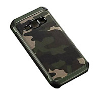 Camouflage PU leather Shockproof  soft TPU Silicone case for Samsung Galaxy J1/J2/J5/J7