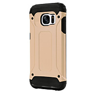 For Samsung Galaxy S7 Edge Stødsikker Etui Bagcover Etui Armeret PC for Samsung S7 Active S7 plus S7 edge S7 S6 edge plus S6 edge S6