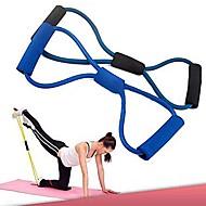 la formation des bandes de résistance tube corde exercice d'entraînement pour le yoga 8 du type du corps de la mode de remise en forme
