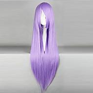 Cosplay-Peruukit Black Butler Hannah Anafeloz Violetti Pitkä Anime Cosplay-Peruukit 80 CM Heat Resistant Fiber Naaras