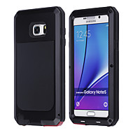 LOGROTATE® Aluminum Waterproof Shockproof Gorilla Glass Case for Samsung Galaxy Note 5 (Assorted Color)