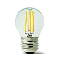 1 pièce kwb E26/E27 3W / 4W 4 COB 400 lm Blanc Chaud G45 edison Vintage Ampoules à Filament LED AC 100-240 V