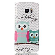 Always love the owl Pattern TPU Back Case for Galaxy S7 /Galaxy S7 Edge
