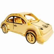 Jigsaw Puzzles 3D Puzzles / Wooden Puzzles Building Blocks DIY Toys Car Wood Beige Model & Building Toy