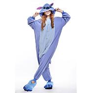 Kigurumi نوم Cosplay® جديدة / Stitch / Monster /قمصان الرضعثوب الراقص Halloween ملابس للنوم الحيوانات أزرق بقع القطبية ابتزاز Kigurumi