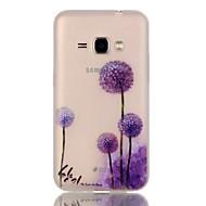 Na Samsung Galaxy Etui Świecące w ciemności Kılıf Etui na tył Kılıf Dmuchawiec TPU Samsung J1 (2016)