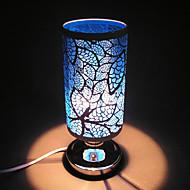 2016 nye smedejern farverige blade aromaterapi lampe induktion ovn førte nat lys for børneværelse boligmontering