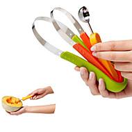 3 Φούξια Hami πεπόνι Αποφλοιωτή & τρίφτης For για Φρούτα Ανοξείδωτο Ατσάλι Πολυλειτουργία Δημιουργική Κουζίνα Gadget Πρωτότυπες