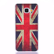 For Samsung Galaxy etui Mønster Etui Bagcover Etui Flag PC for Samsung A7(2016) A5(2016) A3(2016)