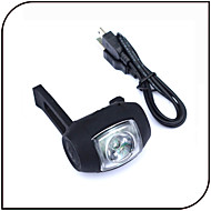 LED USB Rear Light/Bike Warning Safety Lamp 2 Mode Waterproof / LED Rechargeable Bicycle Light Cycling / Rubber