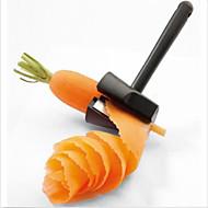 sárgarépa zöldség hámozó szeletelő gyümölcs vágó konyhai eszköz szerkentyű kezelni az új random színű