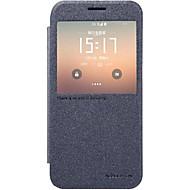 Για Samsung Galaxy S7 Edge με παράθυρο / Αυτόματη αδράνεια/αφύπνιση / Ανοιγόμενη tok Πλήρης κάλυψη tok Μονόχρωμη Συνθετικό δέρμα Samsung