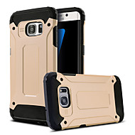 For Samsung Galaxy S7 Edge Stødsikker Med stativ Etui Bagcover Etui Armeret PC for Samsung S7 edge S7