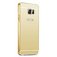 Na Samsung Galaxy Etui Galwanizowane Kılıf Etui na tył Kılıf Jeden kolor PC SamsungS7 edge / S7 / S6 edge plus / S6 edge / S6 / S5 / S4 /