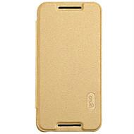 Mert LG tok Kártyatartó / Flip Case Teljes védelem Case Egyszínű Kemény Műbőr LG LG Nexus 5X