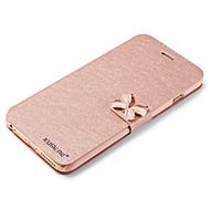 Kompatibilitás iPhone X iPhone 8 iPhone 6 iPhone 6 Plus tokok Kártyatartó Állvánnyal Flip Teljes védelem Case Csillogó Kemény Műbőr Bőr