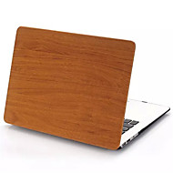 """cubierta completa dura grano de madera de diseño mate caja de cuerpo para el MacBook Pro de 13 """"/ 15 '' con la retina"""