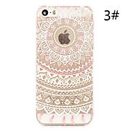 "flor colorida pattern pintado plástico fino de volta caso difícil para iphone 5s 4,0 """