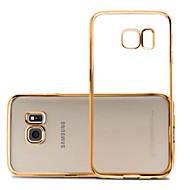 Za Samsung Galaxy S7 Edge Pozlata / Ultra tanko / Prozirno Θήκη Kućište Θήκη Jedna boja TPU Samsung S7 edge / S7 / S6 edge / S6
