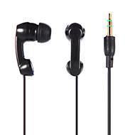 3,5 mm stereo in-ear øretelefon ørepropper hodetelefoner for ipod / ipad / iphone / mp3 svart / hvit tp-888