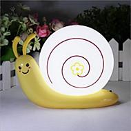 snegl lampe af hovedet af en seng usb nødsituation førte nat lys for børneværelse boligmontering (tilfældig farve)