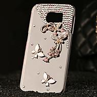 Luxury Plastic Diamond Look Back Cover for Samsung Galaxy S6/Galaxy S6 Edge/Galaxy S6 Edge Plus