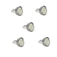 8W GU10 LED-kohdevalaisimet MR16 16 SMD 5630 650LM lm Lämmin valkoinen / Kylmä valkoinen Koristeltu AC 85-265 V 5 kpl
