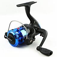 Mini Fishing Spinning Reel Gear Ratio 5.1:1 Exchangable Handle-200